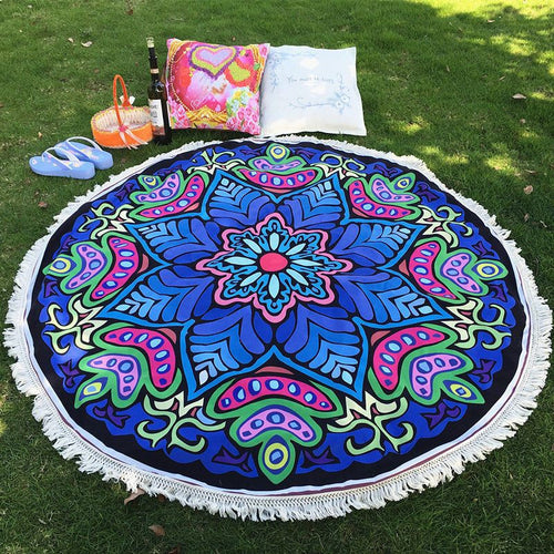 Mandala Blankets - Mandala Yoga And Beach Blanket