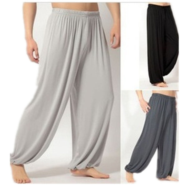 Men's Apparel - Men Yoga Bloomers Trousers