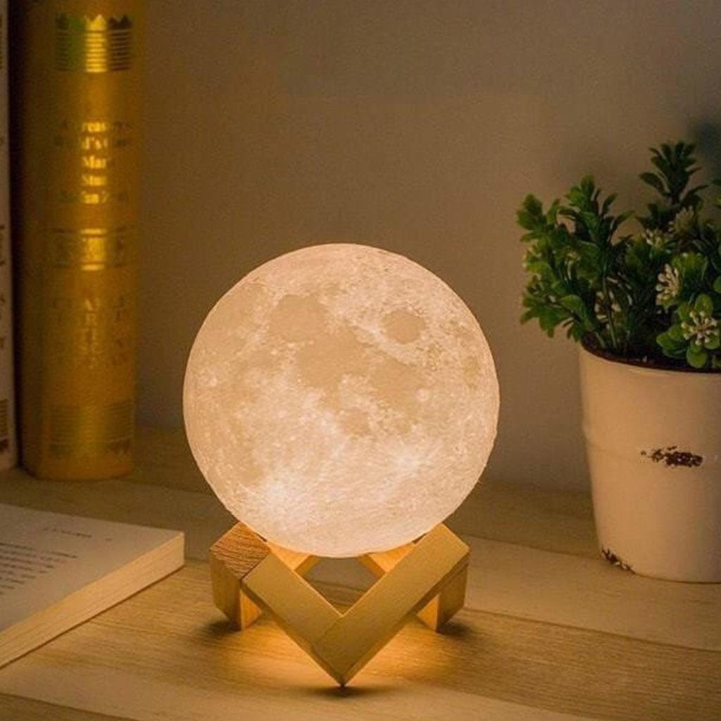 Luna enchanting moon night light for New home decor products