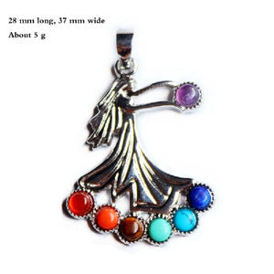 Necklaces - 7 Chakra Stones Reiki Healing Necklace