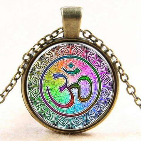 Glowing Heart Chakra Locket