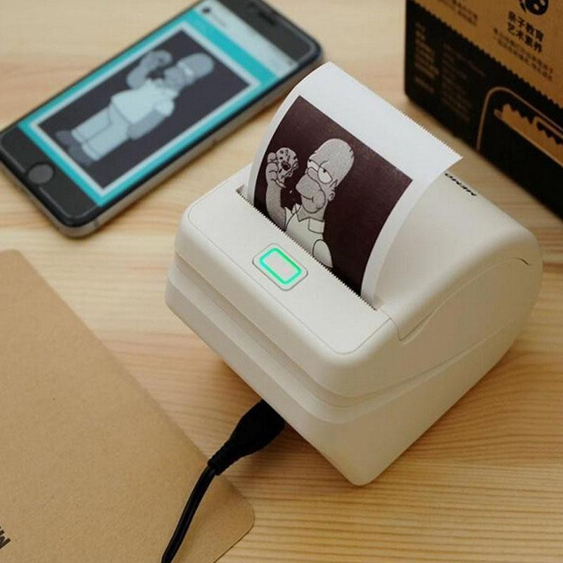 Portable Smartphone Pocket Printer