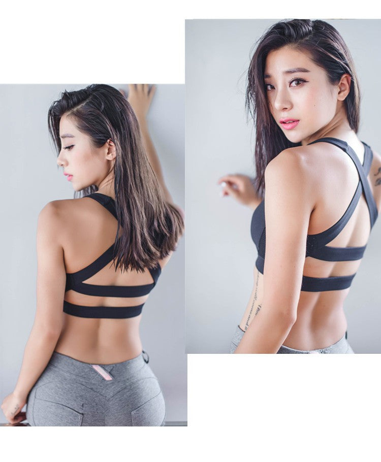 Bralette Cross Back Sports Bra