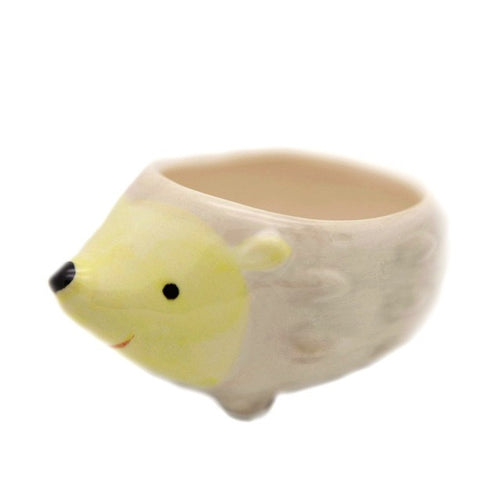 Cute Little Animals Ceramic Flowerpot