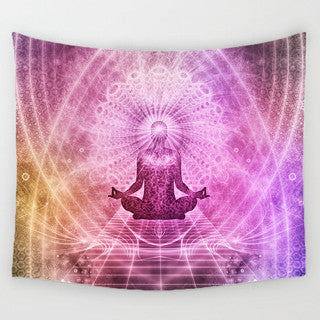 Yogis Meditation Tapestry
