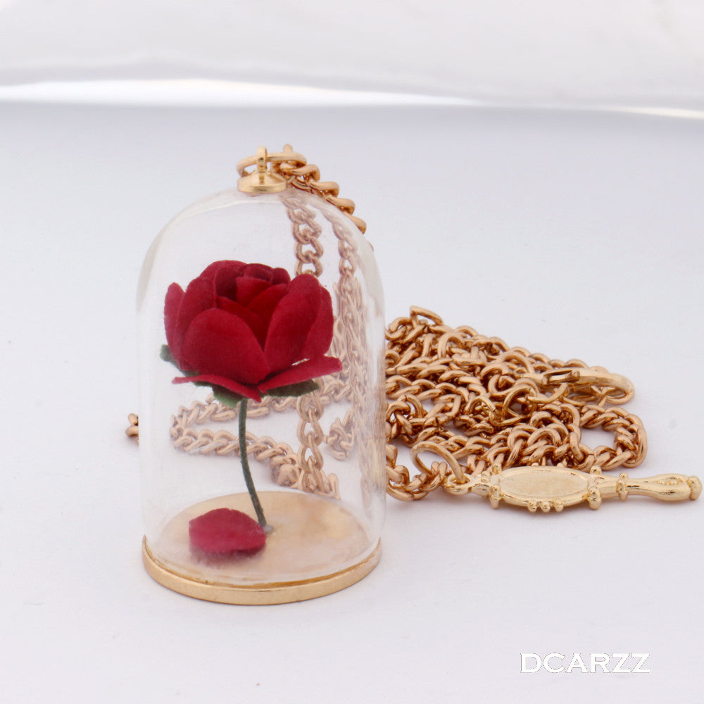 The Enchanted Rose Necklace