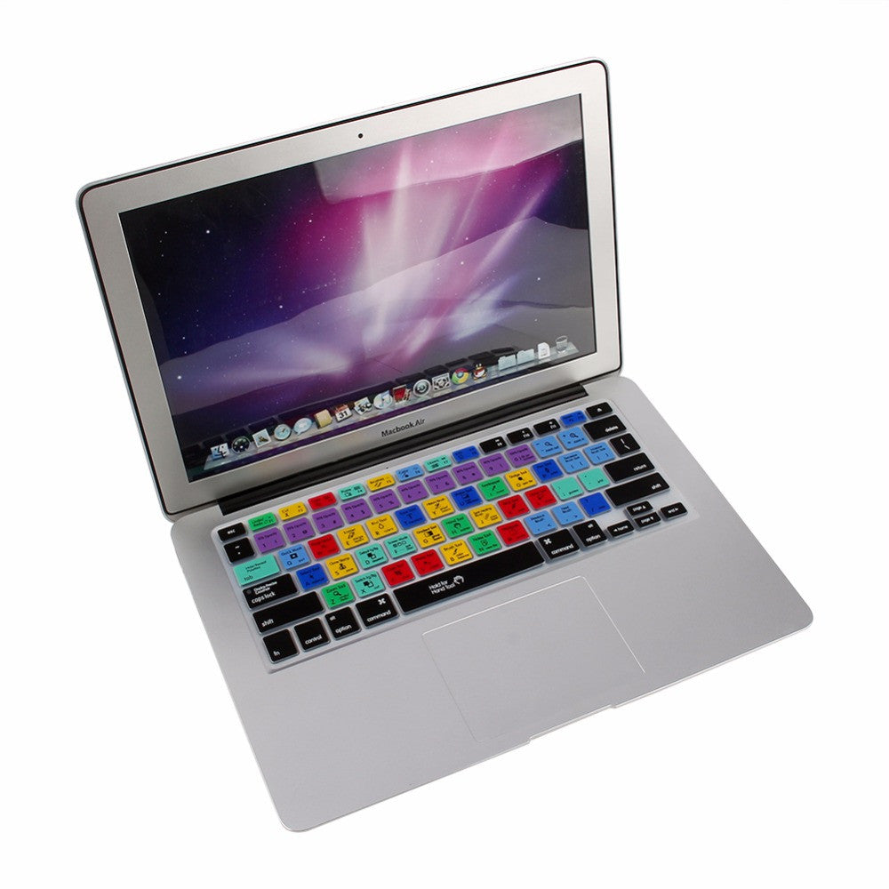 Adobe Shortcuts Keyboard Protector For Macbook