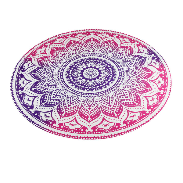Mandala Gradient Beach Blanket