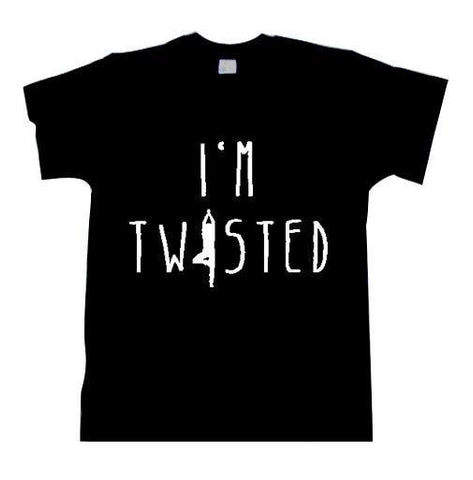 T-Shirts - I'm Twisted  Om T Shirt