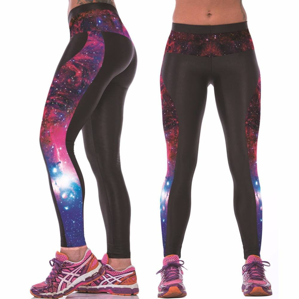 Women's Apparel - 3D Galaxy Yoga Pants