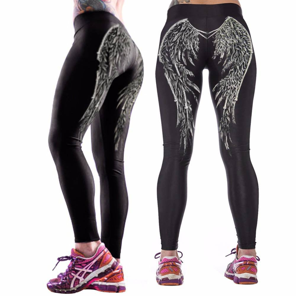 Women's Apparel - Cartoon Fun Frint Women Yoga Pants