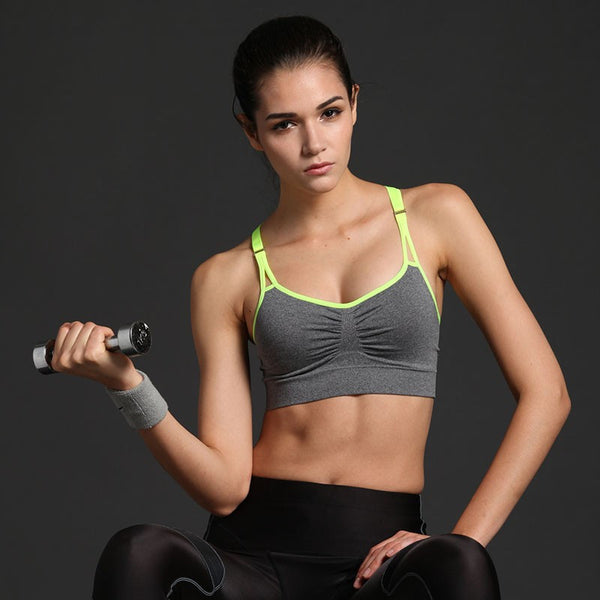 Women's Apparel - Yoga Sports Push Up Bra
