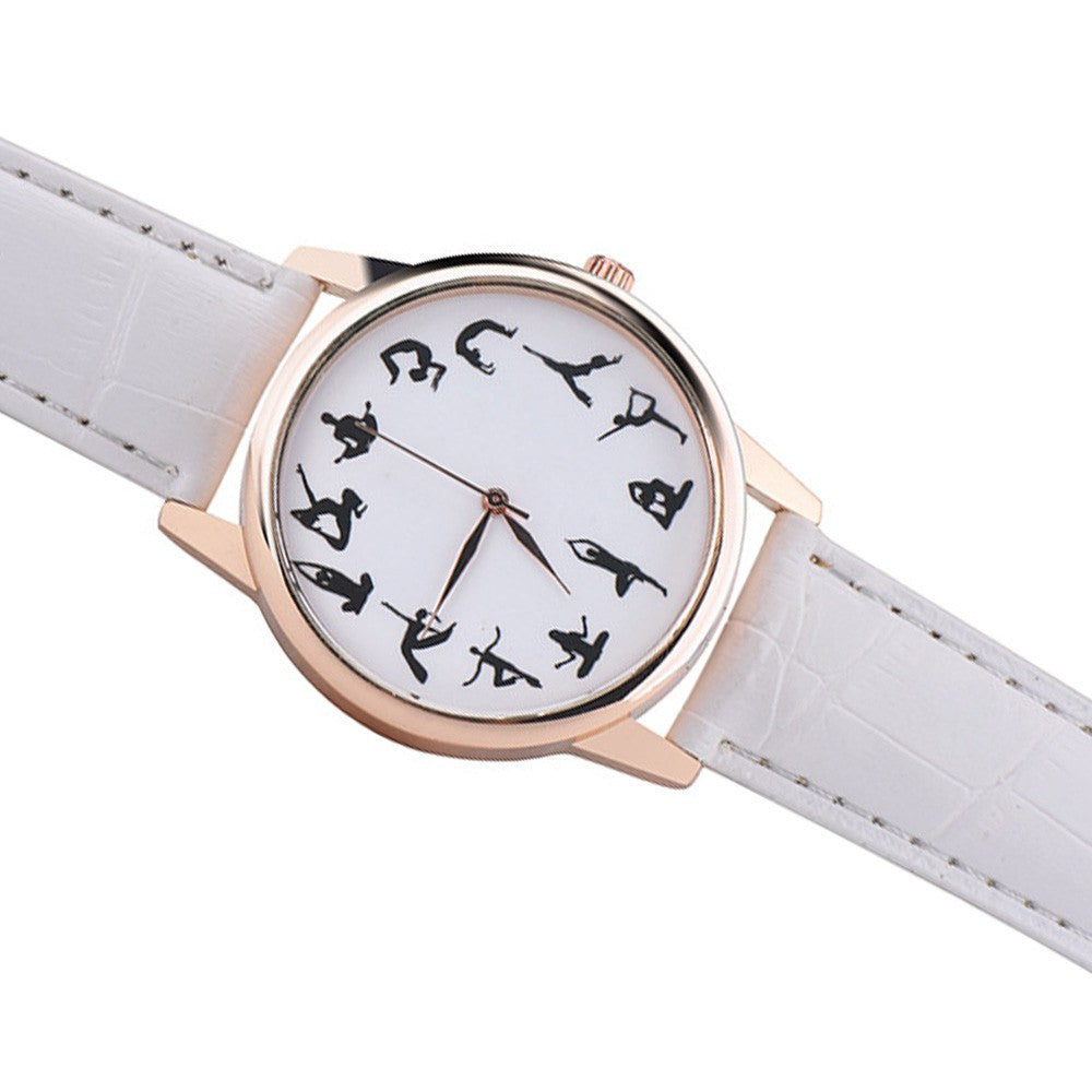 Yoga Accessories - Creative Yoga Wrist Watch