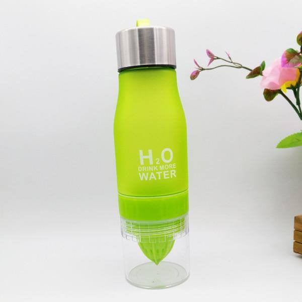 Yoga Accessories - H²O Fruit Infusion Water Bottle