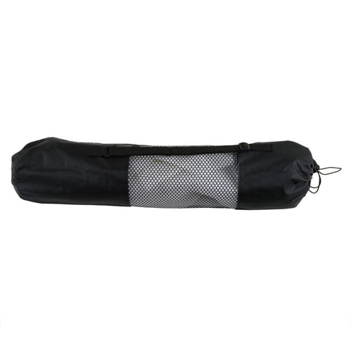 Yoga Accessories - Mesh Black Portable Yoga Mat Bag