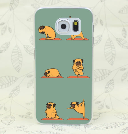 Yoga Accessories - Yoga Pug Case Cover For Samsung Andriod
