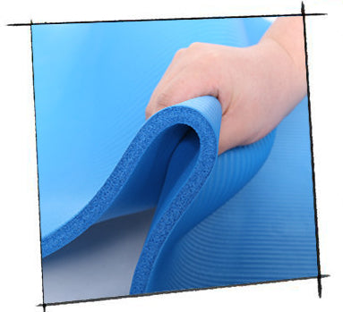 Yoga Props - 8mm Non-Slip Yoga Exercise Mat