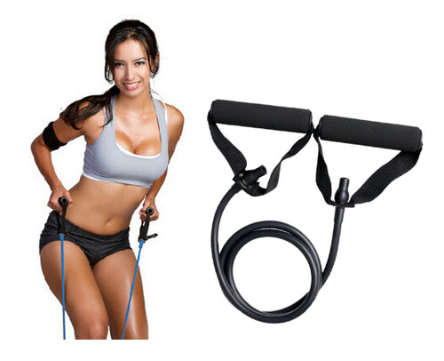 Yoga Props - Black Resistance Bands / Rope