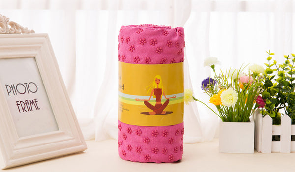 Yoga Props - Yoga Towel 183x63cm With Carry Bag