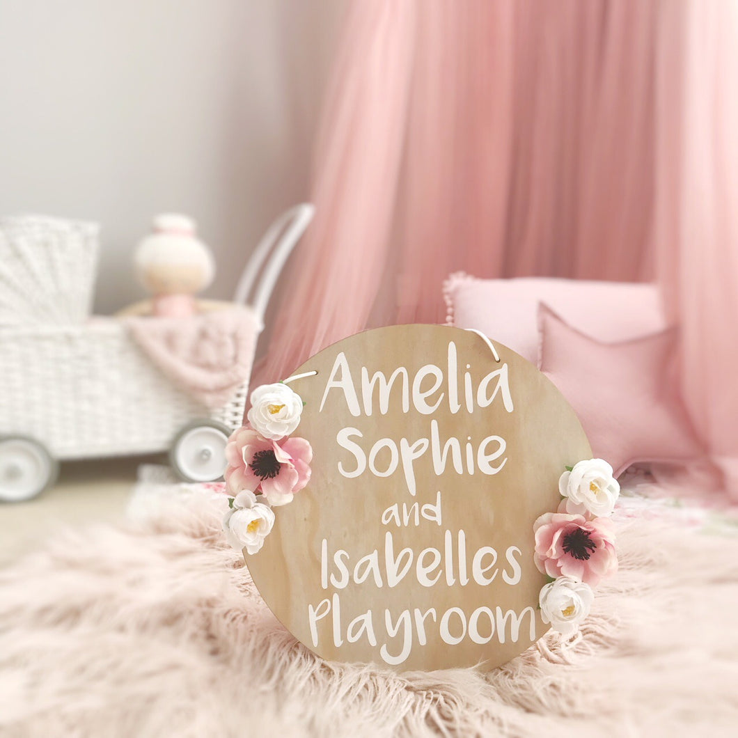 Playroom Plaques - Wanderlust Collective