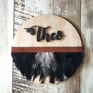 Name Plaque - Tribal - Wanderlust Collective