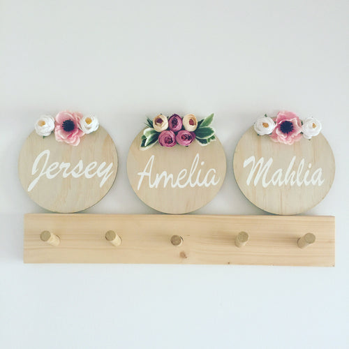 Name Plaque - Pom Pom Edition - Wanderlust Collective