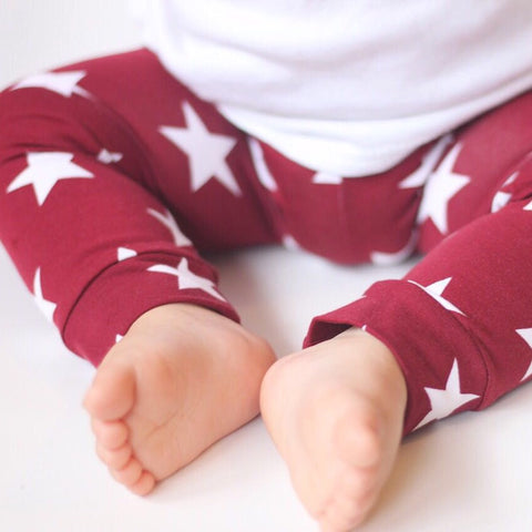 Mulled Wine Little Ones' Leggings - Leshy Lamb