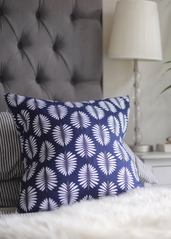 Crisp Fronds Cushion Cover