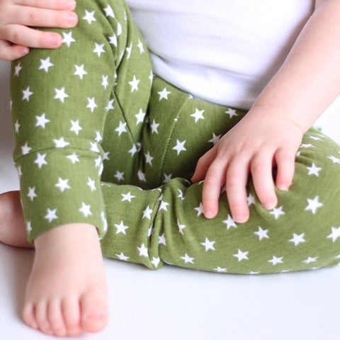 Soft as a Lamb Forest Organic - Fleece Lined Little Ones' Leggings