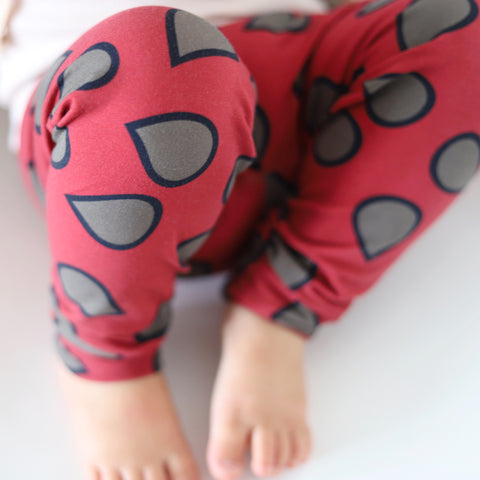 Cranberry Toast Little Ones' Leggings