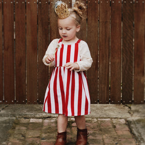 Candy Cane Dress / Pinny