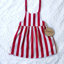 Load image into Gallery viewer, Candy Cane Dress / Pinny