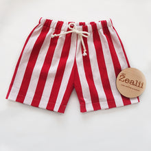 Load image into Gallery viewer, Candy Cane Shorts