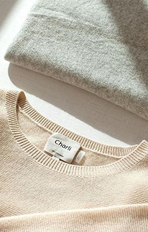 How to wash your Charli cashmere?