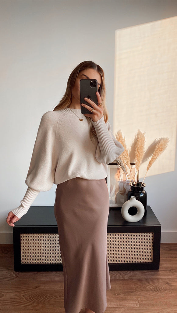 SIENA SWEATER - IVORY
