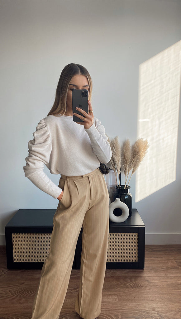 WILLOW SWEATER - IVORY