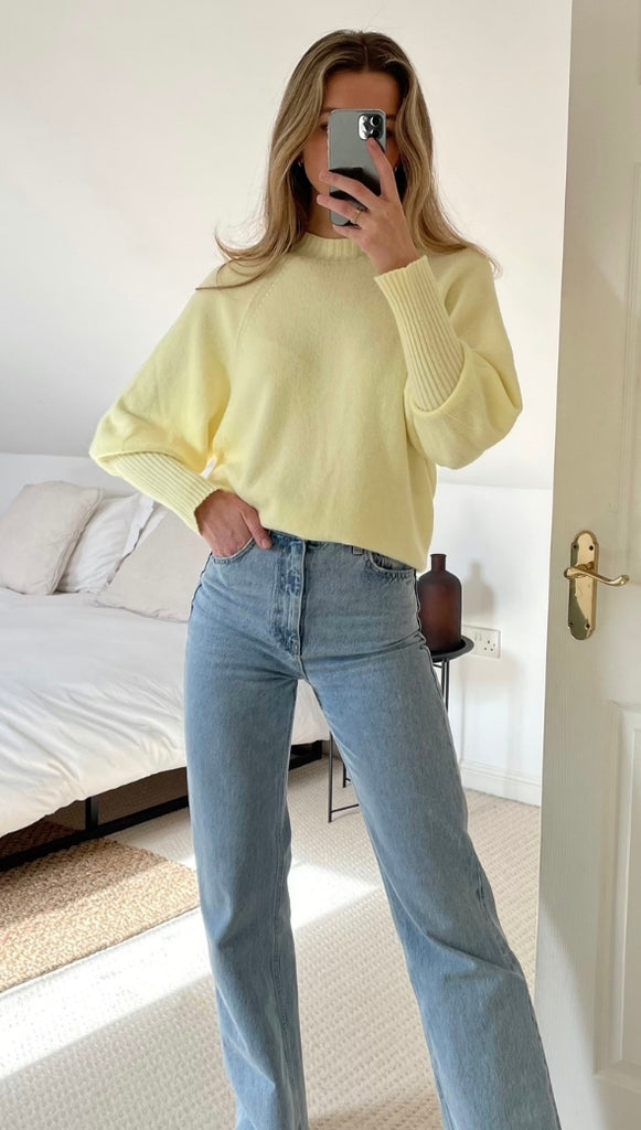 SIENA SWEATER - SOFT YELLOW