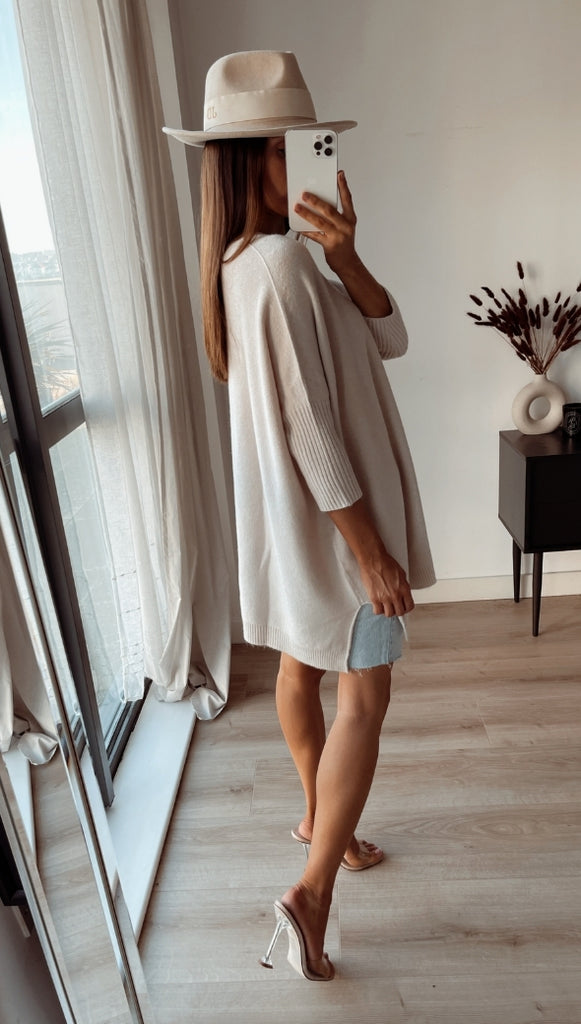 RILEY SWEATER - IVORY