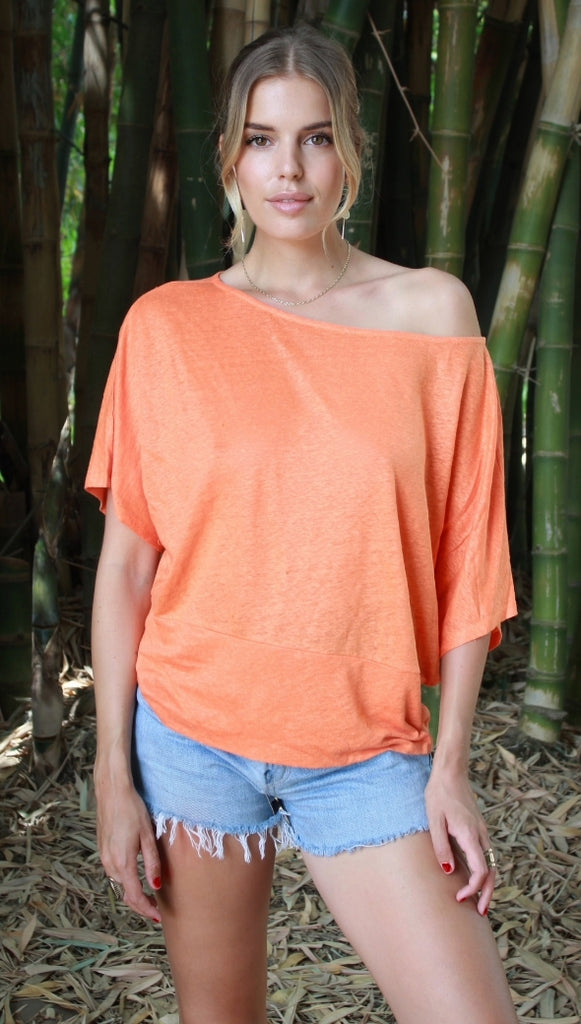 ADEL TOP - CORAL