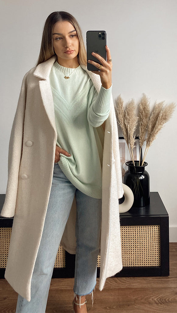HAILEY SWEATER - MINT
