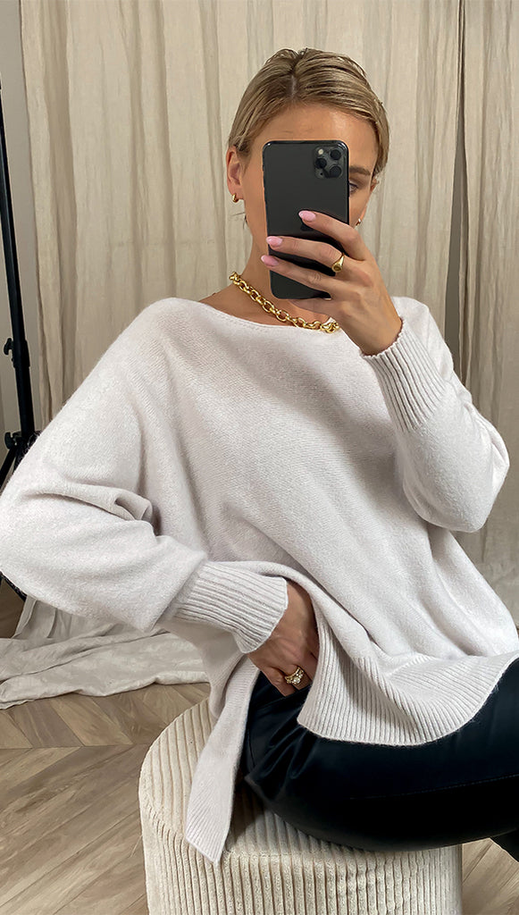 MICHAELA SWEATER - IVORY