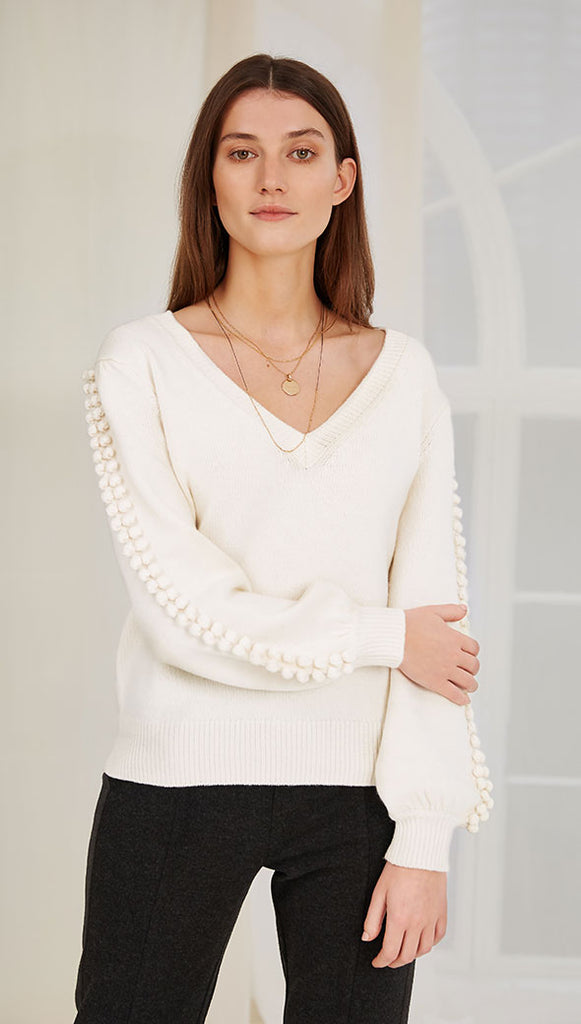 WINIFRED SWEATER - IVORY