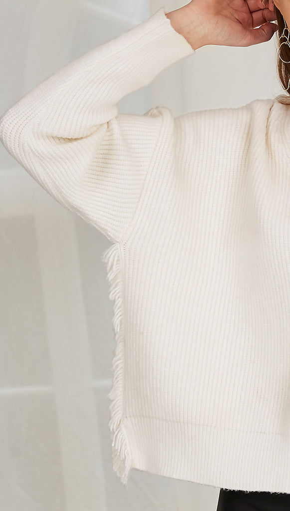 NELLY SWEATER - IVORY
