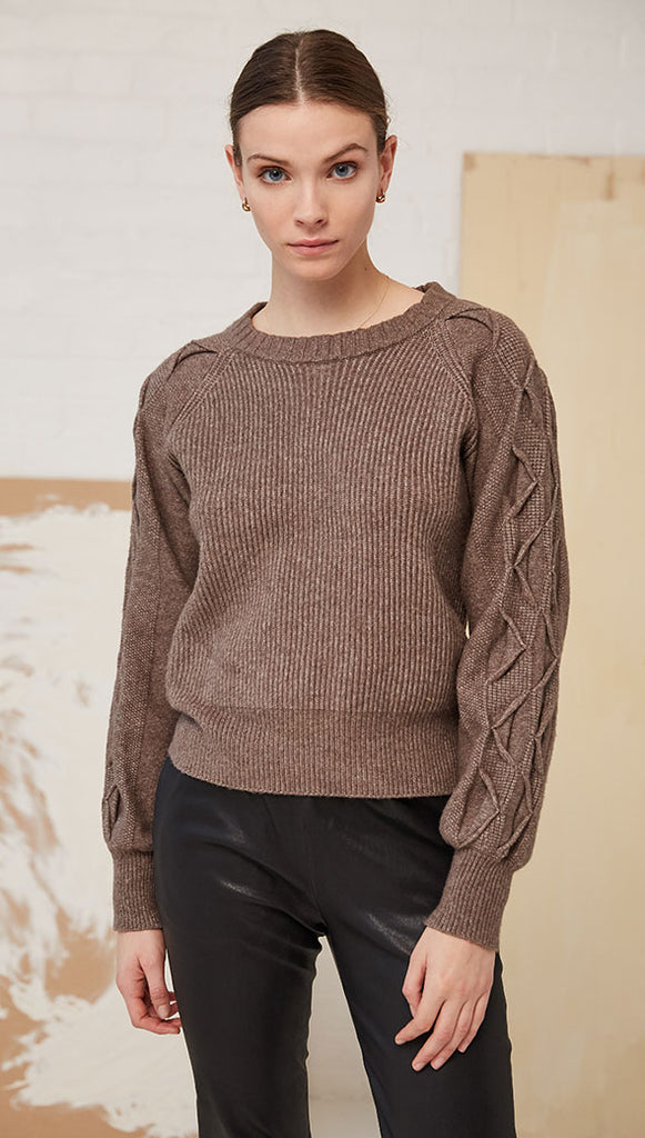 NEREA SWEATER - TAUPE