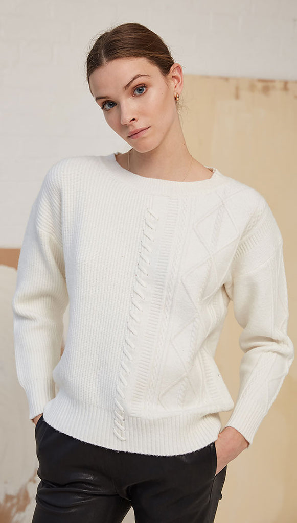 NOUVELLE SWEATER - IVORY