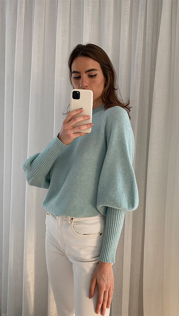 SIENA SWEATER - SEA