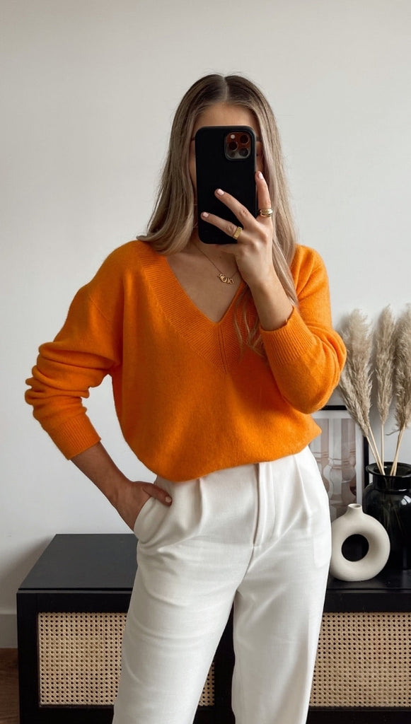 IVY SWEATER - AMBER