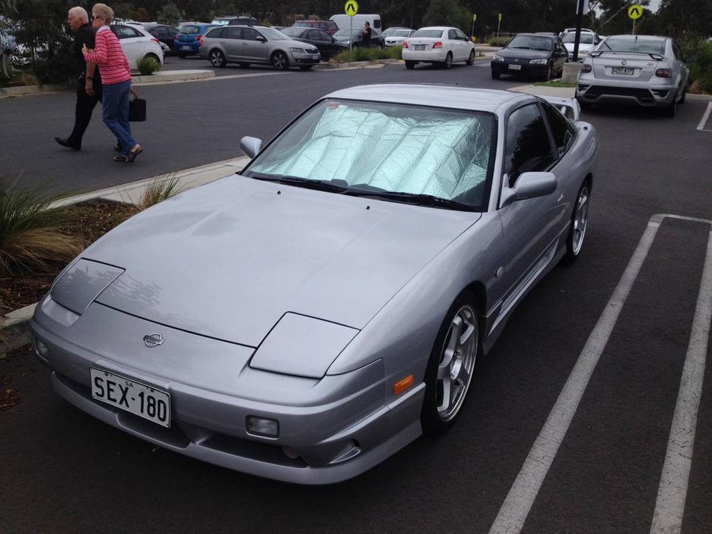 Nissan 180SX - Adelaide Japanese Car Spotting
