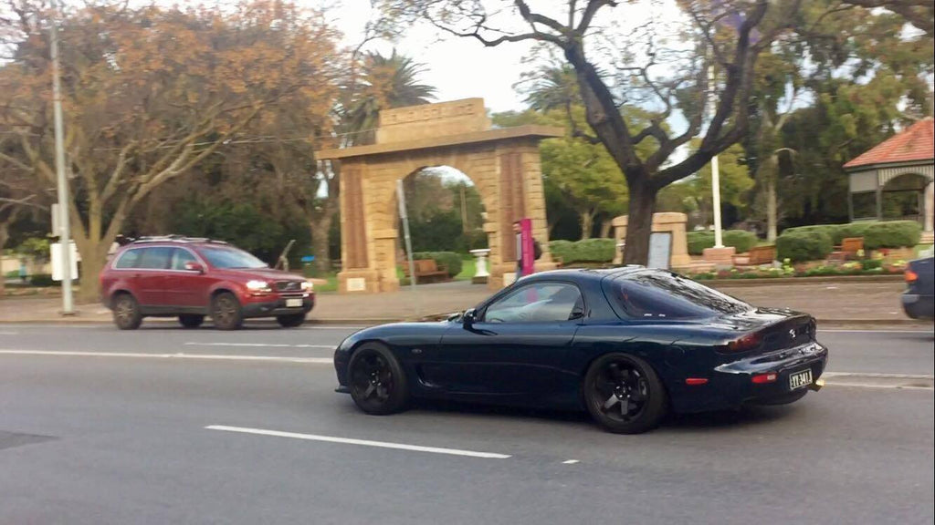 Mazda RX7 - Adelaide Japanese Car Spotting