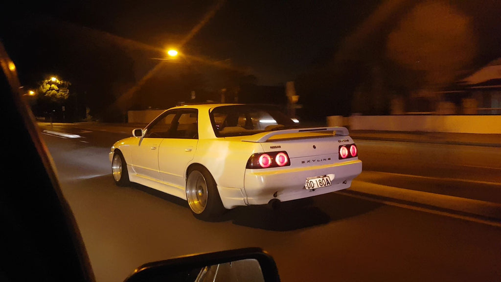 Nissan Skyline R32 4 door - Adelaide Japanese Car Spotting